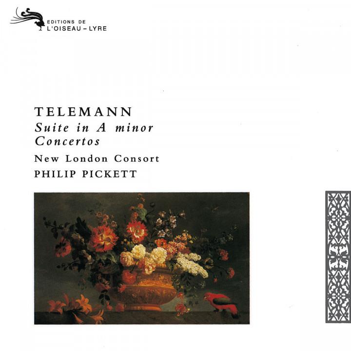 Telemann: Recorder Concertos 0028943304322