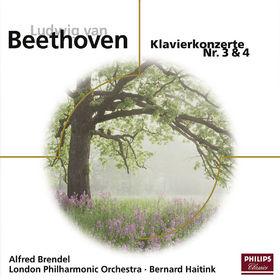 Alfred Brendel, Beethoven: Klavierkonzert Nr. 3&4, 00028944291995