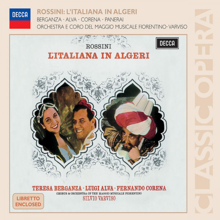 Rossini: L'Italiana in Algeri 0028947582753