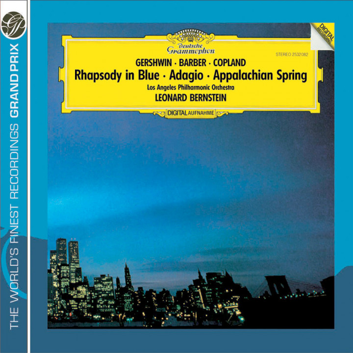 Gershwin: Rhapsody in Blue / Copland: Appalachian Spring / Barber: Adagio for Strings 0028947763521