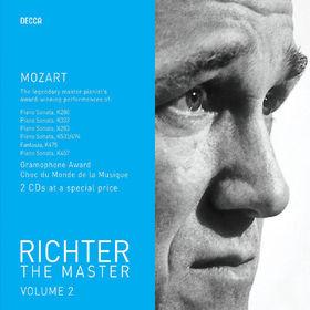 Sviatoslav Richter, Mozart: Piano Sonatas, 00028947581277