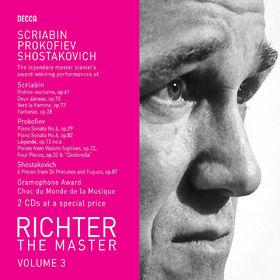 Dmitri Shostakovich, Prokofiev/Scriabin: Piano Works, 00028947581307
