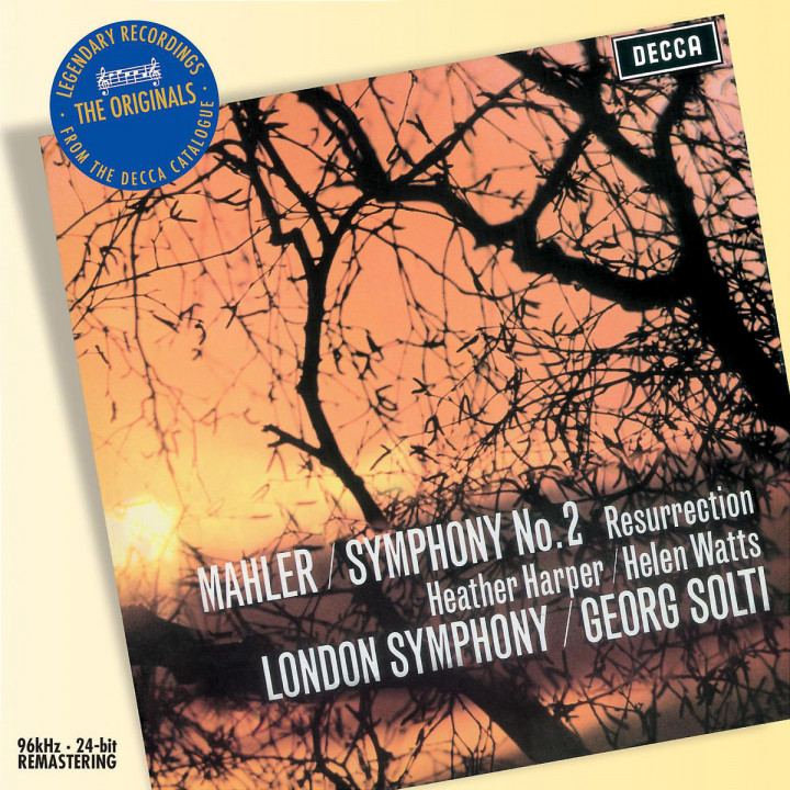 "Mahler: Symphony No.2 - ""Resurrection"" 0028947585011"