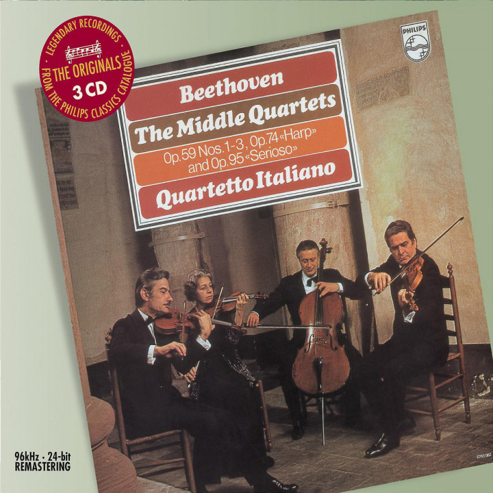Beethoven: The Middle Quartets 0028947585033