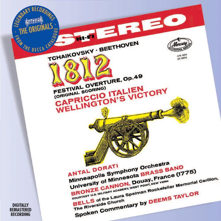 Tchaikovsky: 1812 Overture etc 0028947585088