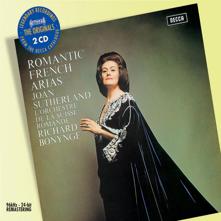 Romantic French Arias 0028947587437