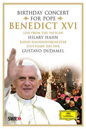 Hilary Hahn, Birthday Concert for Pope Benedict XVI, 00044007343579
