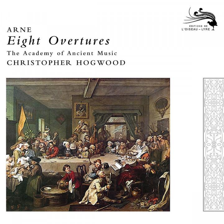 Arne: Eight Overtures 0028947591179