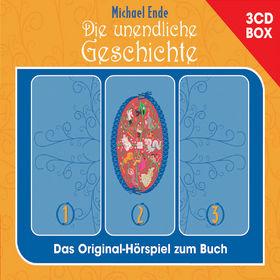 Michael Ende, Die unendliche Geschichte - Hörspielbox, 00602517373396