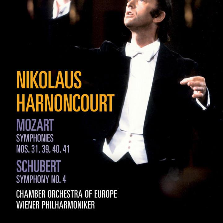 Schubert: Symphony No.4; Mozart: Symphonies No. 31, 39, 40, 41 0044007342901