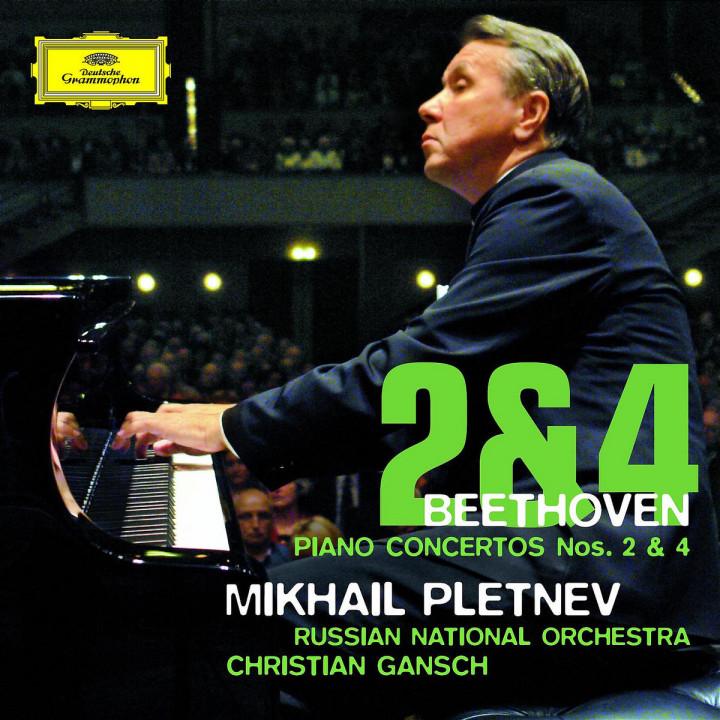 Beethoven: Piano Concertos Nos. 2 & 4 0028947764164