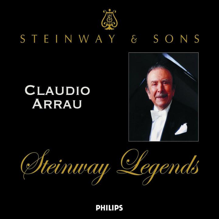 Claudio Arrau: Steinway Legends 0028947585099