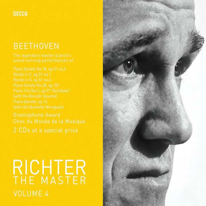 Richter plays Beethoven Vol.2 0028947586137