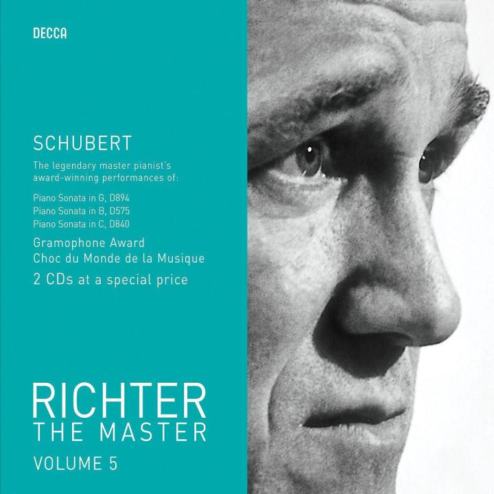 Richter plays Schubert 0028947586160