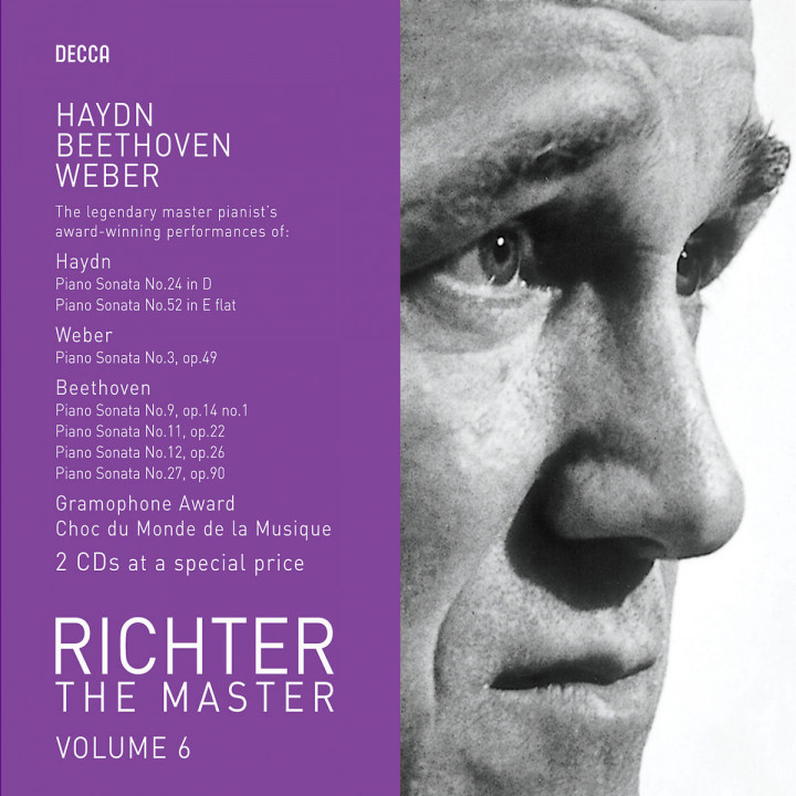 Richter plays Haydn/Weber/Beethoven 0028947586193