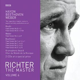 Sviatoslav Richter, Richter plays Haydn/Weber/Beethoven, 00028947586197