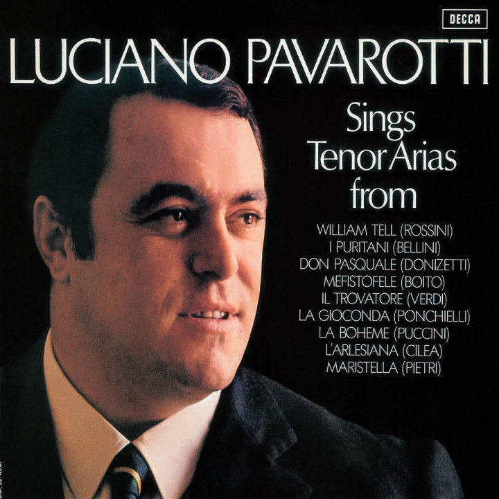 Tenor Arias from Italian Opera 0028947583802