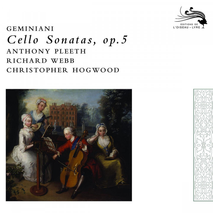 Geminiani: Cello Sonatas 0028947591087