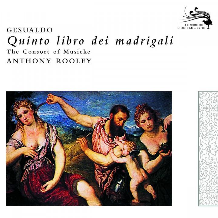 Gesualdo: Quinto Libro di Madrigali 0028947591102