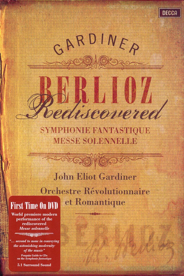 Berlioz Rediscovered 0044007432127