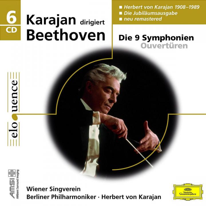 Beethoven: 9 Symphonies - Overtures 0028944299245