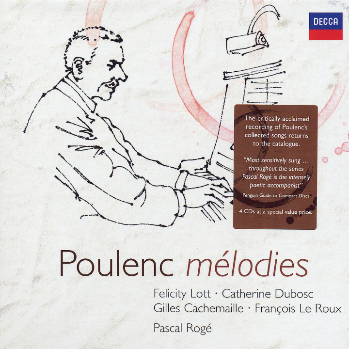 Poulenc: Songs 0028947590857