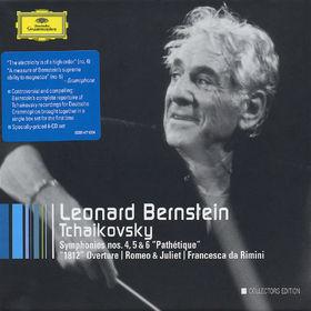 Leonard Bernstein, Tchaikovsky: Symphonies Nos.4 - 6; Orchestral works, 00028947767046