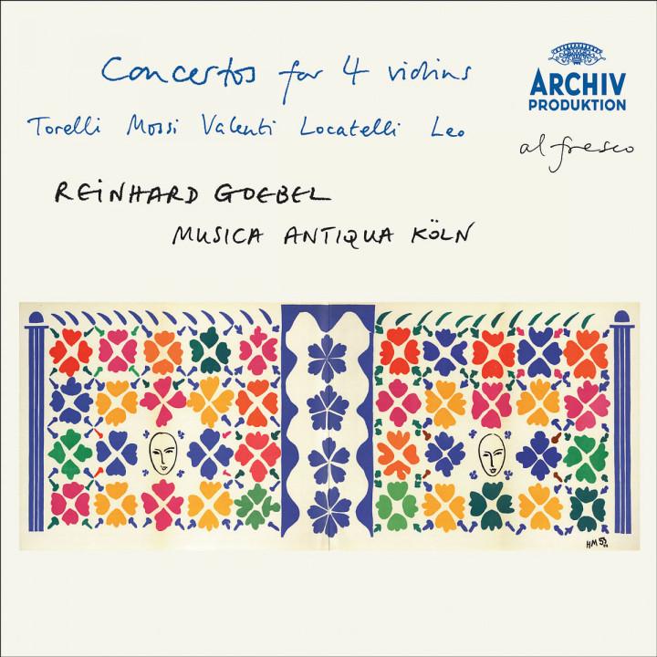 Torelli / Mossi / Valentini / Locatelli / Leo: Concertos for 4 violins 0028947767282