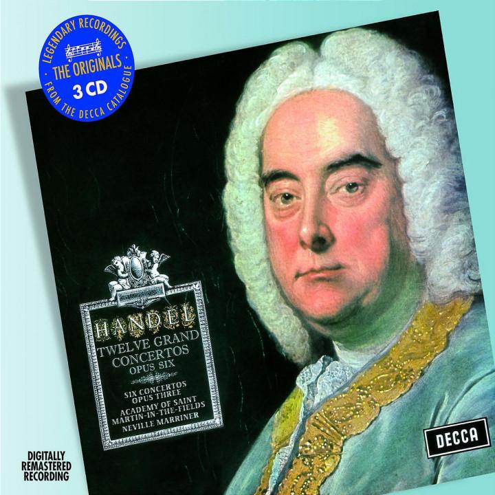 Handel: Concerti Grossi Op.3 & Op.6 0028947586735