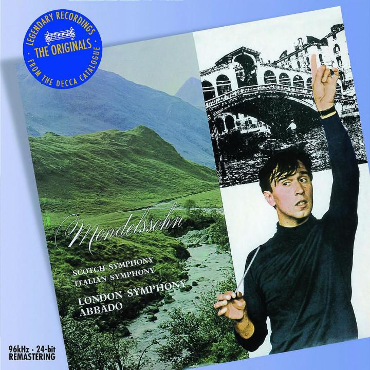 Mendelssohn: Symphonies Nos.3 & 4 0028947586779