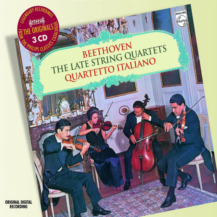 Beethoven: The Late String Quartets 0028947586850