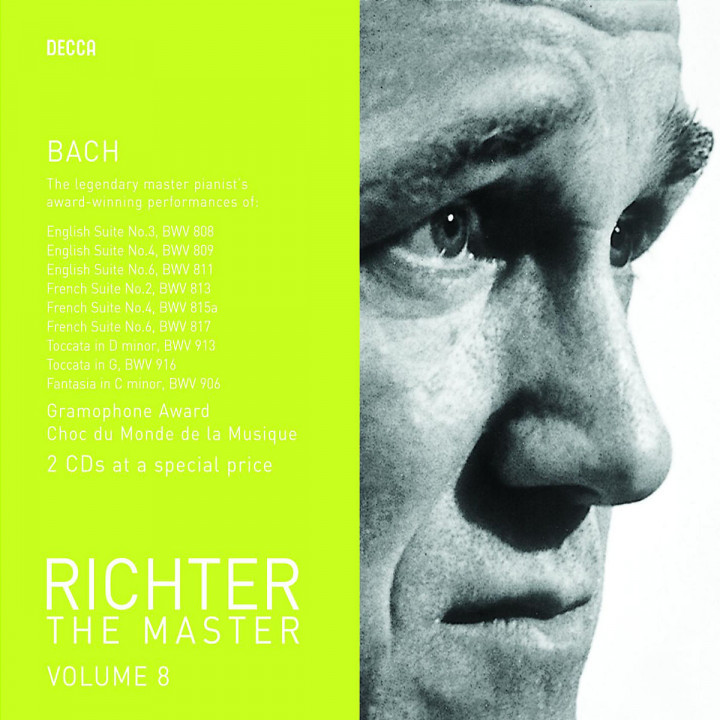Richter The Master - Bach 0028947586311