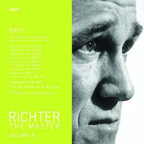 Sviatoslav Richter, Richter The Master - Bach, 00028947586319