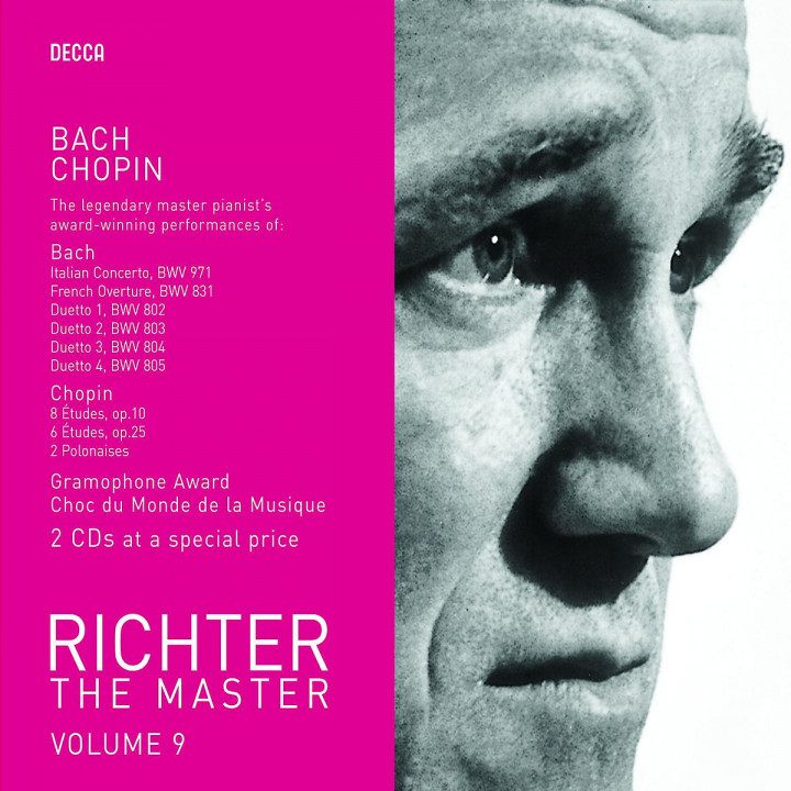 Richter the Master - Bach & Chopin 0028947586344
