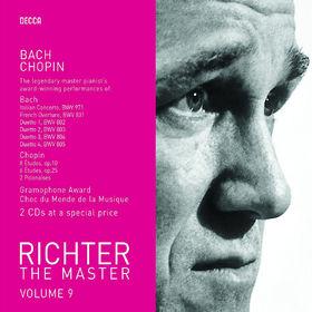 Sviatoslav Richter, Richter the Master - Bach&Chopin, 00028947586340