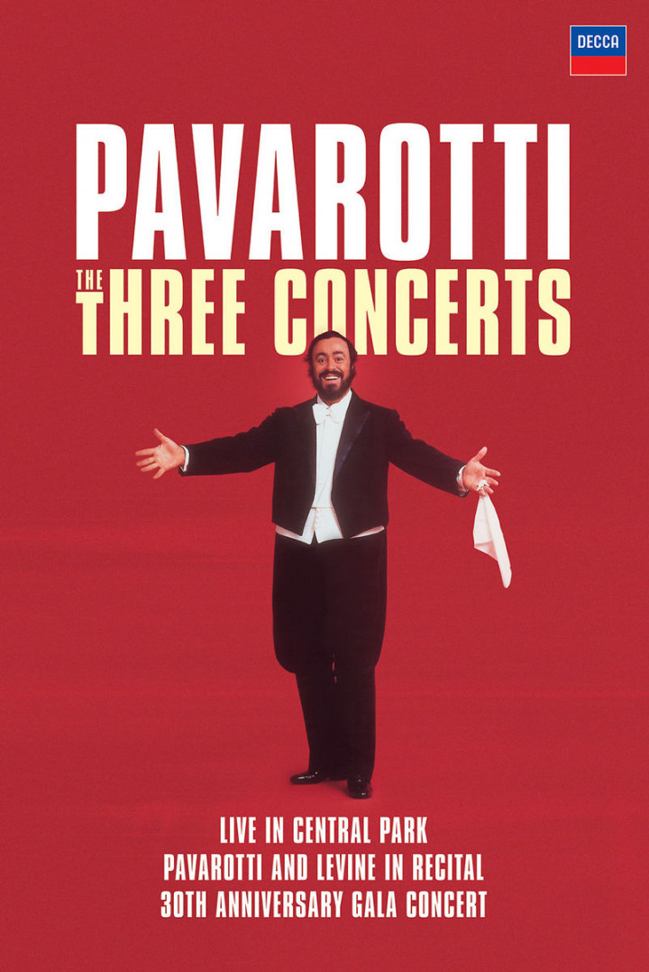Pavarotti: The Three Concerts 0044007432219