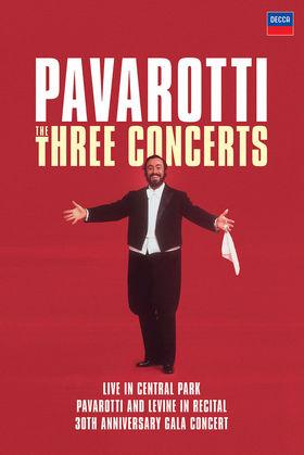 Luciano Pavarotti, Pavarotti: The Three Concerts, 00044007432211