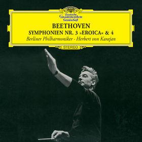 Die Berliner Philharmoniker, Beethoven: Symphonies Nos.3 Eroica&4, 00028947771579
