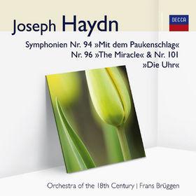 Audior, Haydn: Symphonien Nr.94, 96&101, 00028948000616