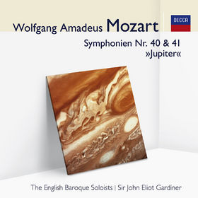 John Eliot Gardiner, Mozart: Symphonien Nr.40&41 Jupiter, 00028948001477