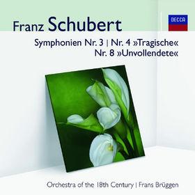 Audior, Schubert: Symphonien Nr.3, 4&8, 00028948001880