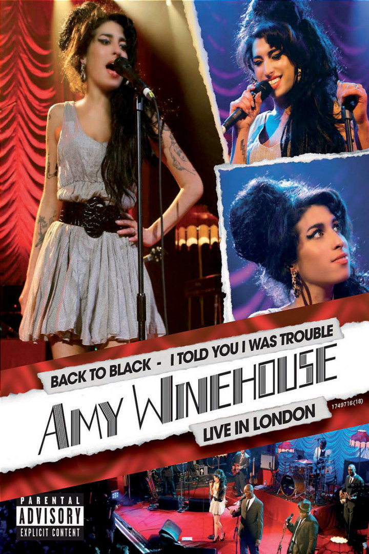 I Told You I Was Trouble - Amy Winehouse Live In London 0602517497162