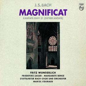Fritz Wunderlich, Magnificat BWV 243&Kantate BWV 31, 00028948002177