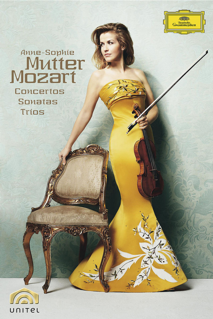 Anne-Sophie Mutter: Mozart-Box 0044007342174