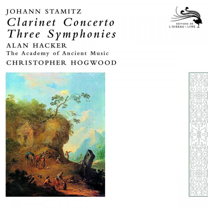 Stamitz, Johann: Clarinet Concerto / 3 Symphonies 0028947591168