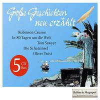 Daniel Defoe, Große Geschichten - neu erzählt (5 CD Box)