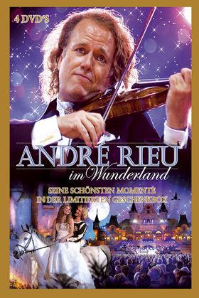 André Rieu, André Rieu im Wunderland (4DVD-Set), 00602517538979