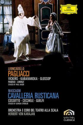 Herbert von Karajan, Mascagni: Cavalleria Rusticana / Leoncavallo: Pagliacci, 00044007343890