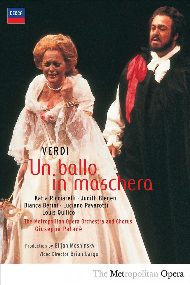 Verdi: Un Ballo in Maschera 0044007432275