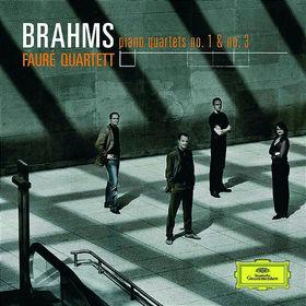 Fauré Quartett, Brahms: Klavierquartett 1 Op.25 & 3 Op.60, 00028947663232